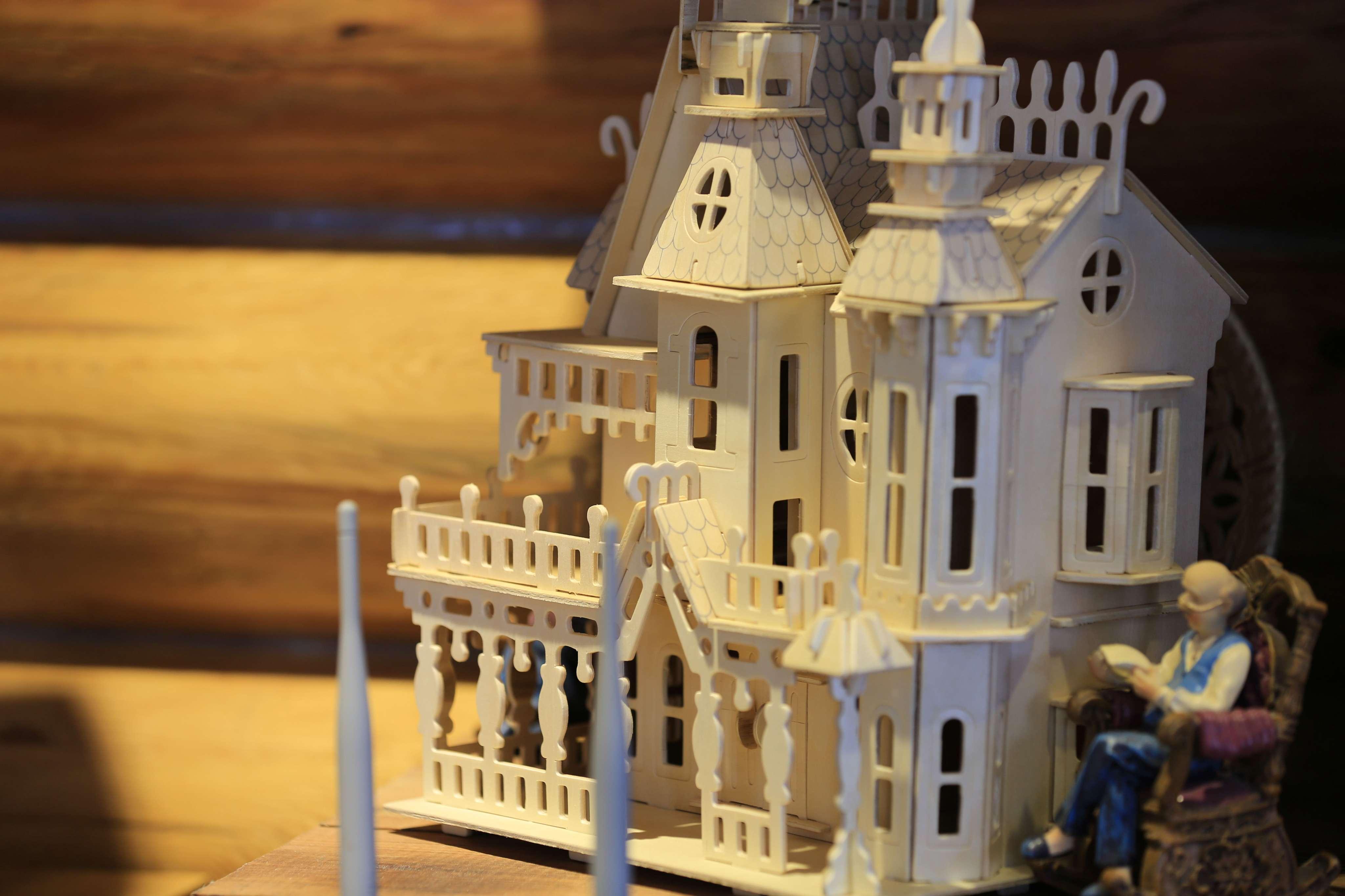 欧式手工城堡
